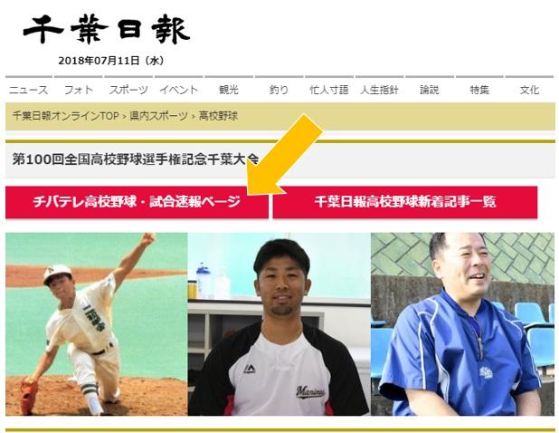 野球 千葉 高校